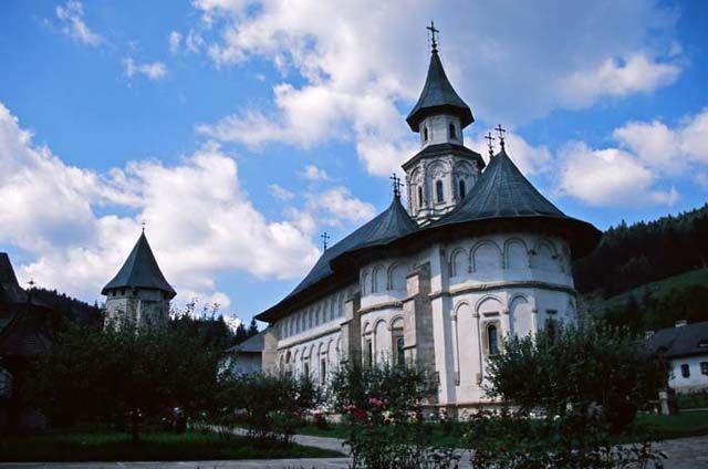 Zdjęcia: Putna, Bukowina, klasztor Putna, RUMUNIA