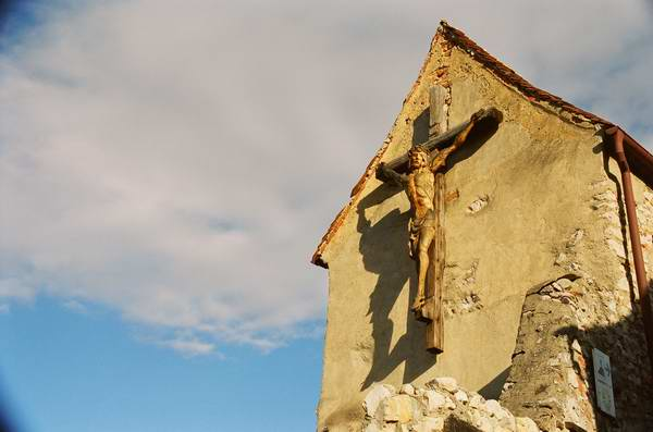 Zdjęcia: Rasnov, Transylwania, Kaplica na zamku chłopskim w Rasnovie, RUMUNIA