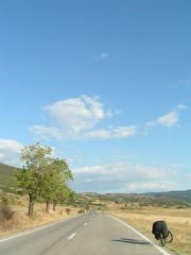 Zdjęcia: Moldova Neu, Przełom Dunaju, Droga wzdłuż Dunaju, RUMUNIA