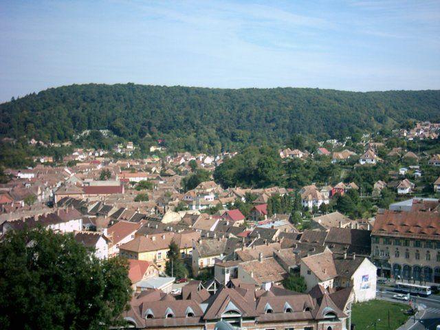 Zdjęcia: Sigishoara, Transylwania, Miasto czerwonych dachówek, RUMUNIA