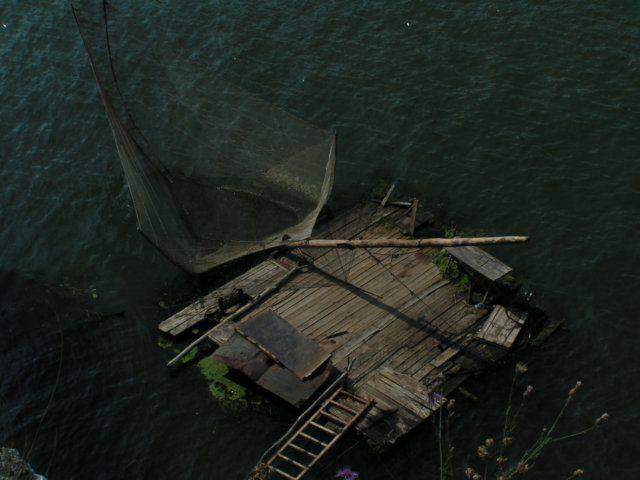 Zdjęcia: Berzasca, Munteania, Przystań rybacka, RUMUNIA
