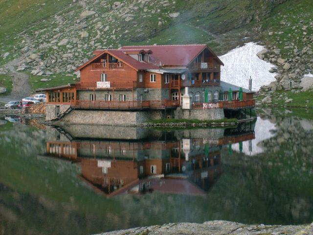 Zdjęcia: Góry Fogarskie, Góry Fogarskie, Schronisko, RUMUNIA