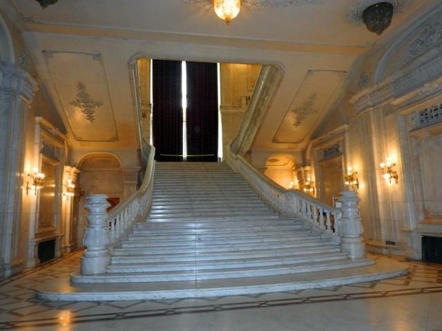 Zdjęcia: Bukareszt, Bukareszt, Wnętrze parlamentu, RUMUNIA