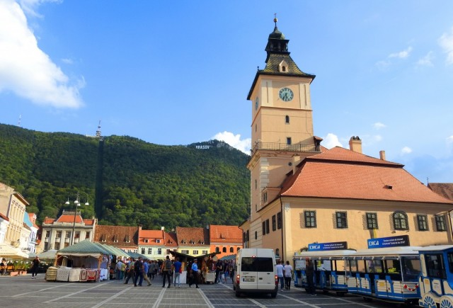 Zdjęcia: Braszov, Siedmiogród, Ratusz, RUMUNIA
