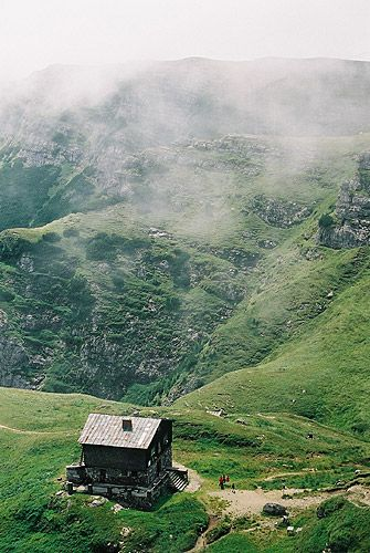Zdjęcia: Cabana Caraiman, Bucegi, W górach..., RUMUNIA