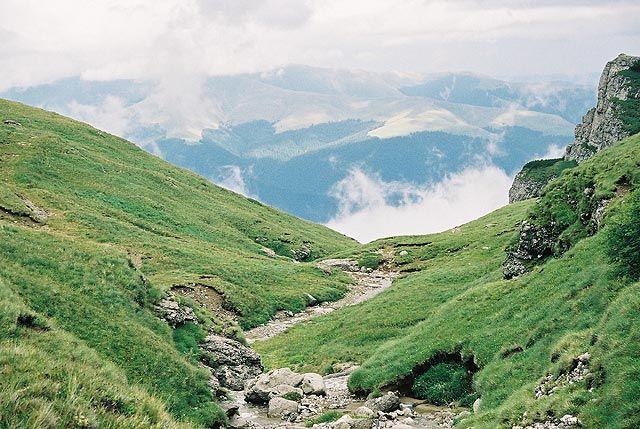 Zdjęcia: okolice Cabana Caraiman, Bucegi, W górach..., RUMUNIA