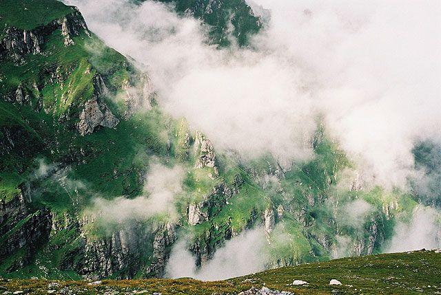 Zdjęcia: w drodze na Caraiman, Bucegi, W górach..., RUMUNIA