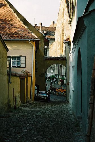 Zdj�cia: Sighisoara, Transylwania, rodzinne miasteczko Draculi..., RUMUNIA