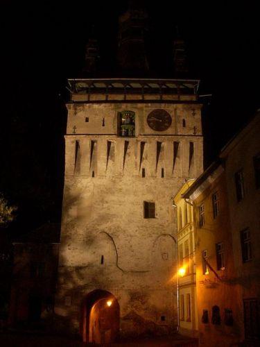 Zdj�cia: Sighisoara, Transylwania, Wie�a zegarowa, RUMUNIA