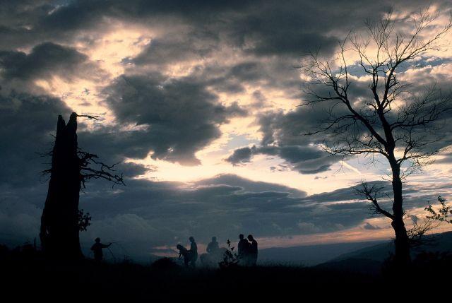 Zdjęcia: Góry Wulkańskie, Transylwania, Karpaty Południowe, Ludzie z mgły, RUMUNIA