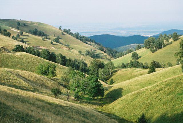 Zdjęcia: dolina nad Rasinari, Góry Sybińskie, dolina ukojenia, RUMUNIA