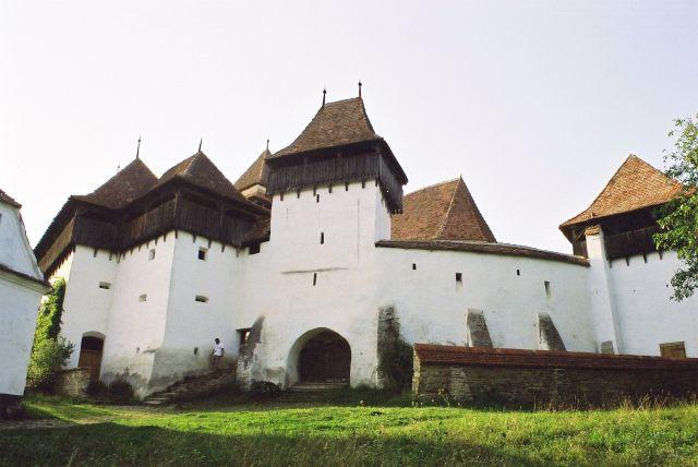 Zdj�cia: ko�ci� warowny w Viscri, Siedmiogr�d, saskie �lady w Siedmiogrodzie, RUMUNIA