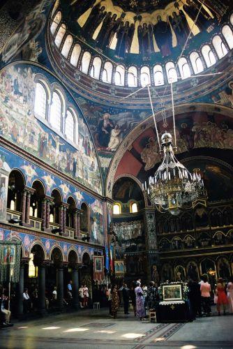 Zdjęcia: katedra prawosławna w Sibiu, Siedmiogród, Prawie jak w Konstantynopolu, RUMUNIA