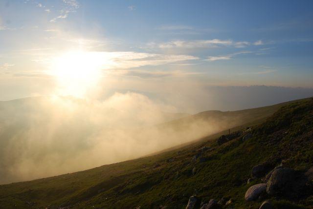 Zdjęcia: Góry BUCEGI, Transylwania, Przed zachodem słońca, RUMUNIA