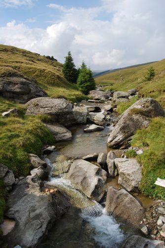 Zdjęcia: Góry BUCEGI, Transylwania, Potok, RUMUNIA