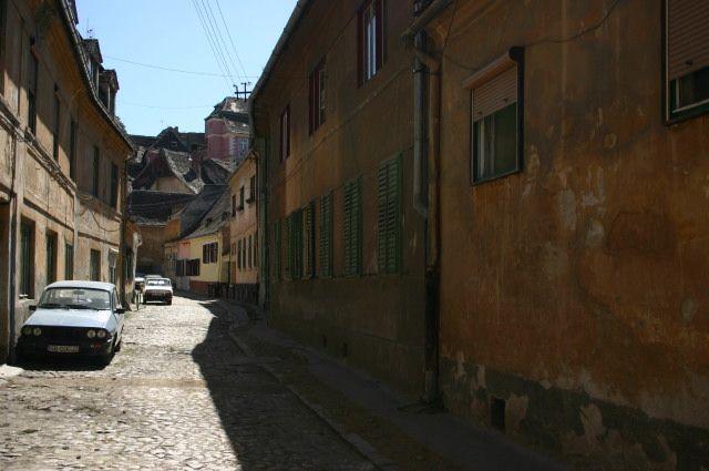 Zdjęcia: Zaułek poza szlakiem, Sibiu, Strzeż się tych miejsc, RUMUNIA