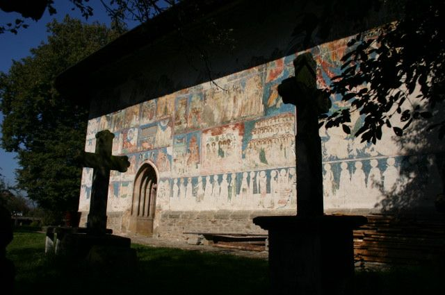 Zdjęcia: Arbore, Bukowina, Malowany klasztor w Arbore, RUMUNIA