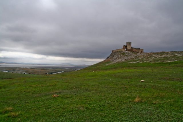 Zdjęcia: Enisala, Dobrudza, zamczysko, RUMUNIA