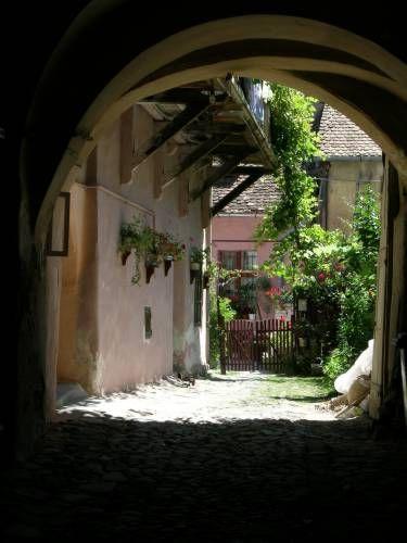 Zdjęcia: SIGHISOARA, Kamienica na Starym Miescie, RUMUNIA