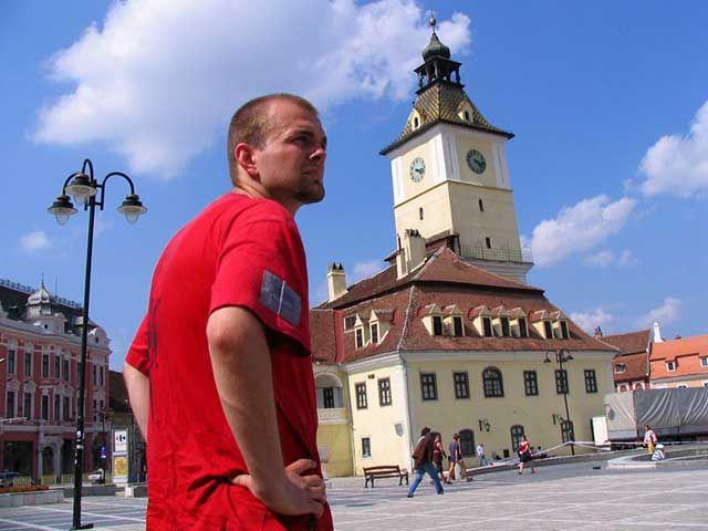 Zdjęcia: Braszów, Góry Fogarskie, Rynek w Braszowie, RUMUNIA