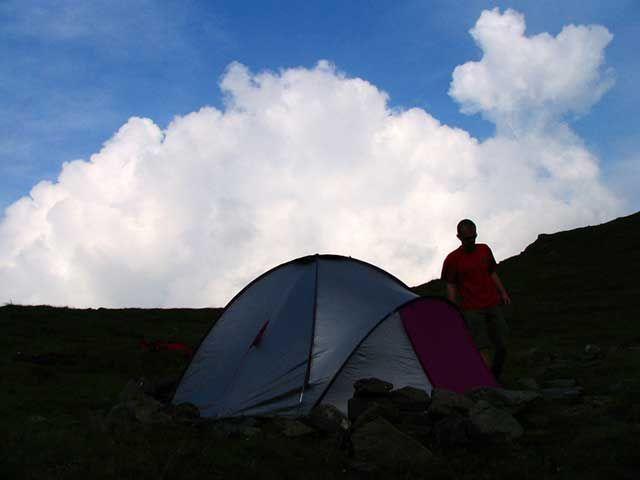 Zdjęcia: przełęcz Scara, Góry Fogarskie, przełęcz Scara - nocleg, RUMUNIA