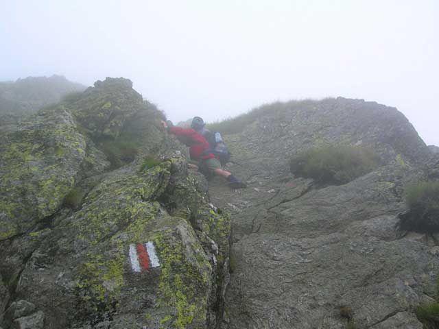 Zdjęcia: Serbota, Góry Fogarskie, W kierunku Negoiu 1, RUMUNIA