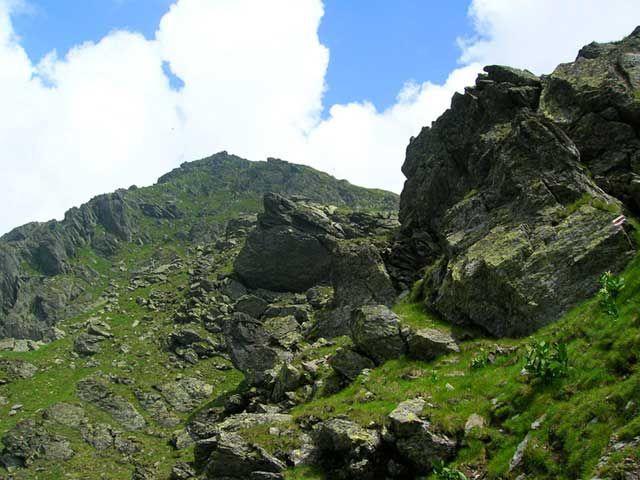 Zdjęcia: Serbota, Góry Fogarskie, W kierunku Negoiu 3, RUMUNIA