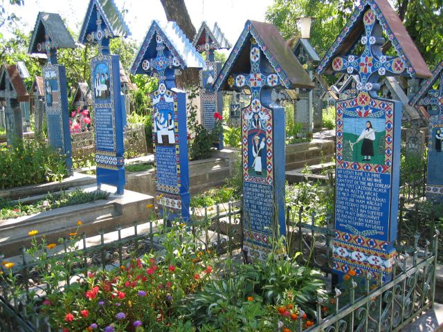 Zdjęcia: Sapanta, Maramures, Wesoły cmentarz w Sapanta, RUMUNIA