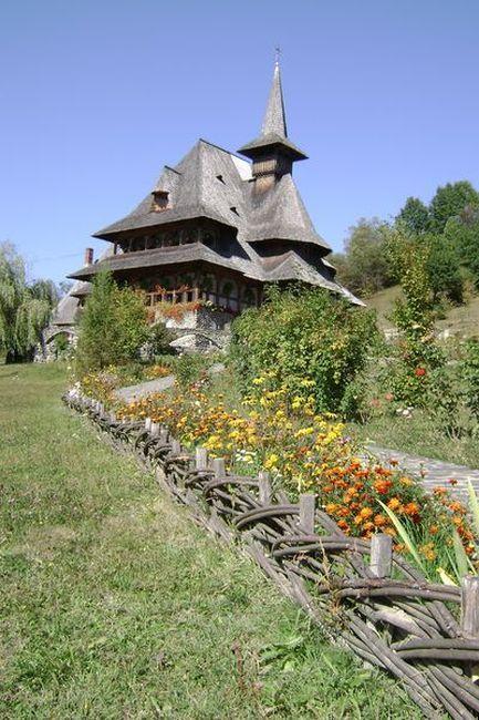 Zdjęcia: północ Rumunii, zespół klasztorny, RUMUNIA