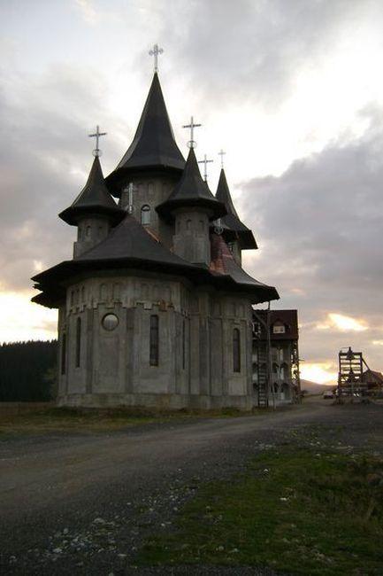 Zdjęcia: Borsa, Prislop, Prawosławny monastyr, RUMUNIA