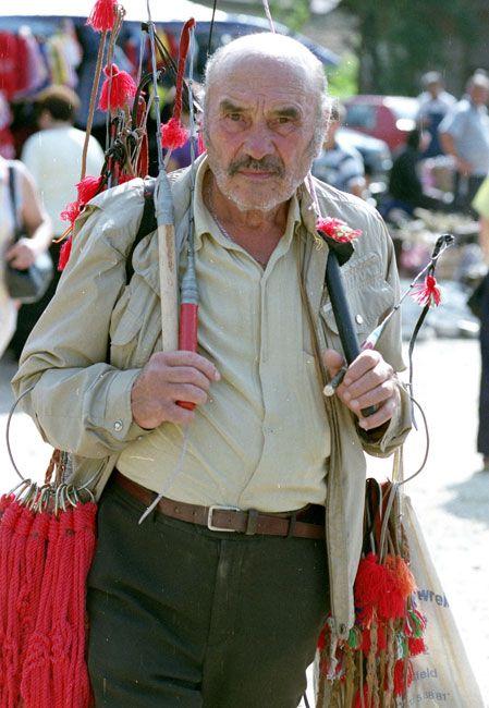 Zdjęcia: Bran, Transylwania, Bazar w Branie, RUMUNIA