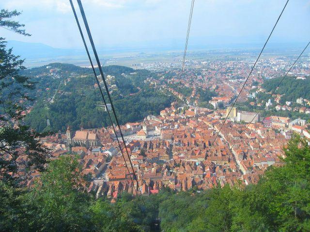 Zdjęcia: Brasov, Transylwania, Panorama Braszowa, RUMUNIA