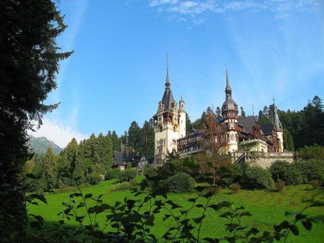 Zdjęcia: Sinaia, Transylwania, Zamek Peles, RUMUNIA