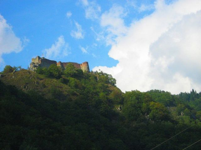 Zdjęcia: Karpaty Południowe, Transylwania, Zamek Vlada Tepesa w Poienari, RUMUNIA