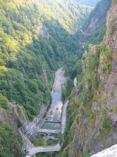 Zdjęcia: Karpaty Południowe, Transylwania, wawóz  w Karpatach  - Siedmiogród, RUMUNIA