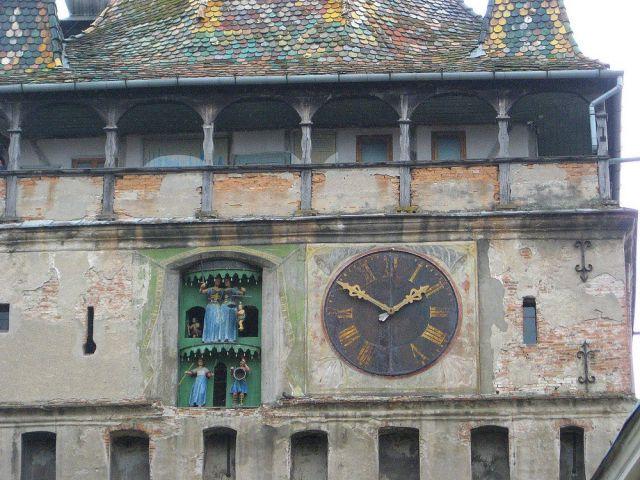 Zdjęcia: Sighisoara, Transylwania, średniowieczna wieża zegarowa, RUMUNIA