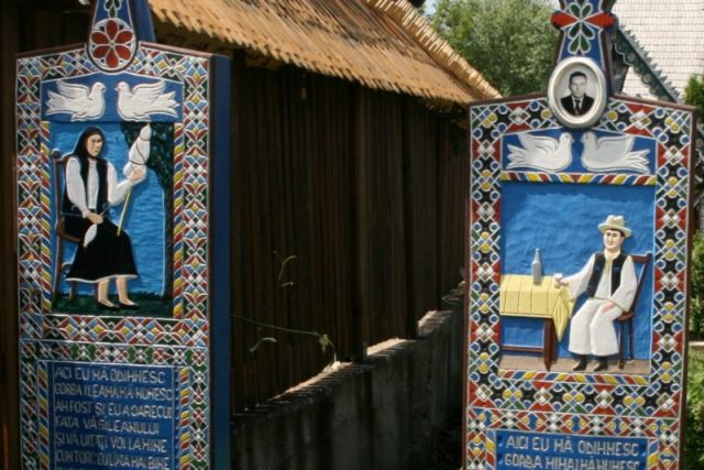 Zdjęcia: sapinta, Bukowina, cimitrul; vesel, RUMUNIA