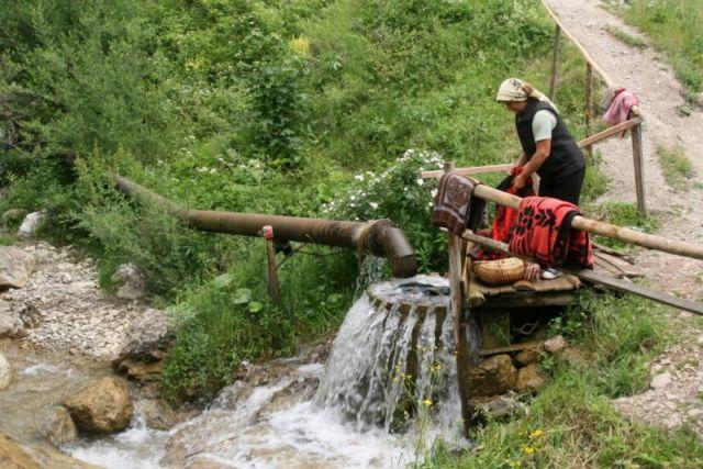 Zdjęcia: wąwóz Bicaz, Bukowina, pralnia, RUMUNIA