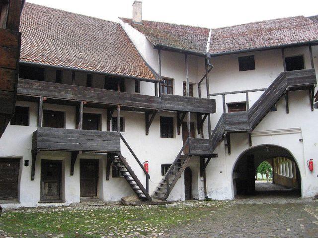 Zdjęcia:   Prejmer - w pobliżu Sighisoary, Transylwania, Kościół warowny  tzw. chłopski, RUMUNIA
