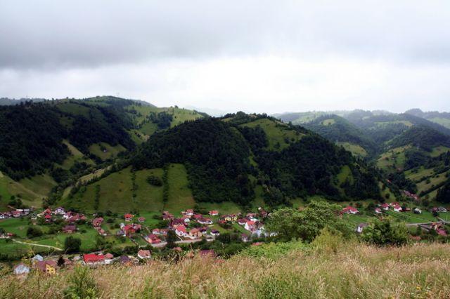 Zdjęcia: Valea mare, Transylwania, Krajobraz k. Valea mare, RUMUNIA