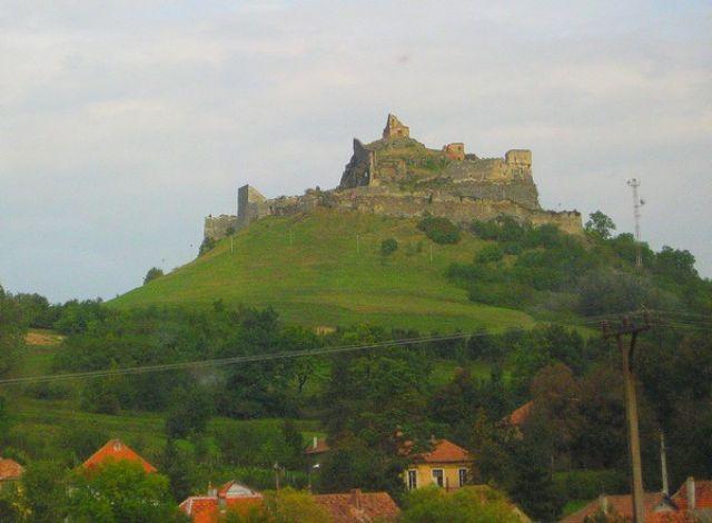 Zdjęcia:  okolice Sigishoary, Transylwania, zamek chłopski, RUMUNIA