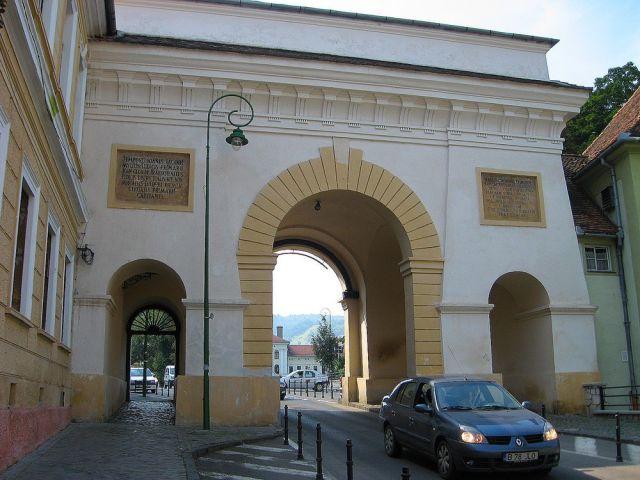 Zdjęcia: Brasov, Transylwania, Brama miejska w Braszowie, RUMUNIA