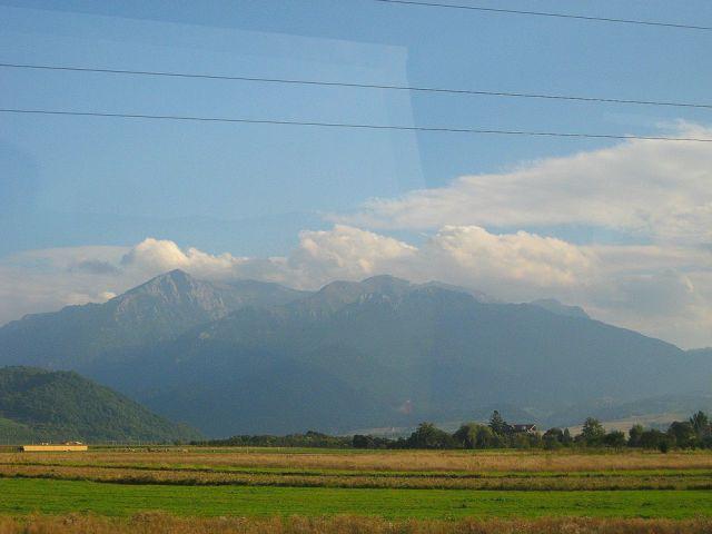 Zdjęcia: pomiedzy Fagaras a Brasov, Transylwania, góry Fagaraskie, RUMUNIA