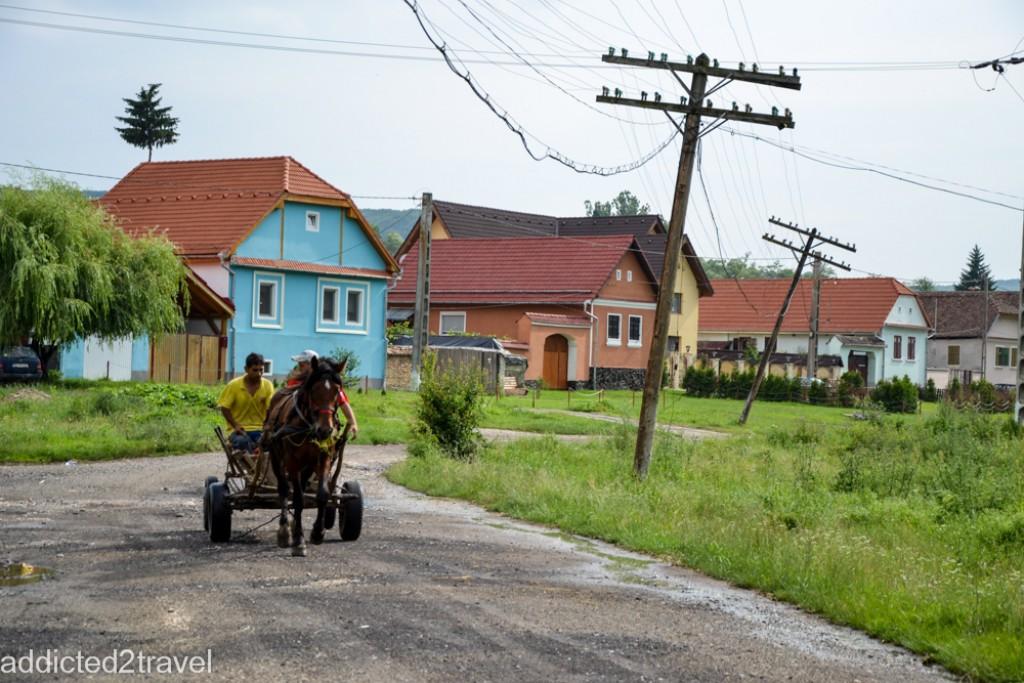 Zdjęcia:  Iacobeni, Transylwania, Cygańska wioska, RUMUNIA