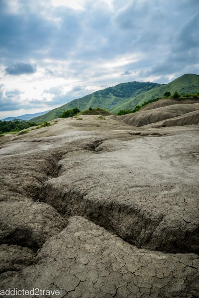 Zdjęcia: Noirisi, Buzau, Błotne wulkany, RUMUNIA