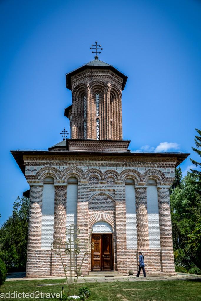 Zdjęcia: Snagov, Transylwania, Monastyr Snagov - grób Drakuli, RUMUNIA