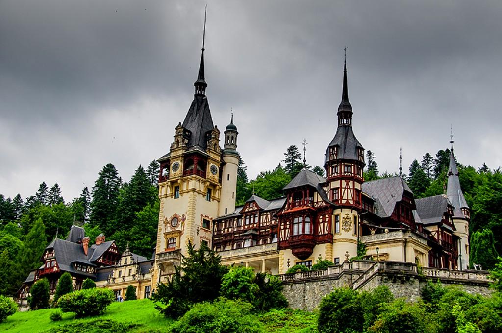 Zdjęcia: Sinaia, zamek Peleş kolejna odsłona, RUMUNIA