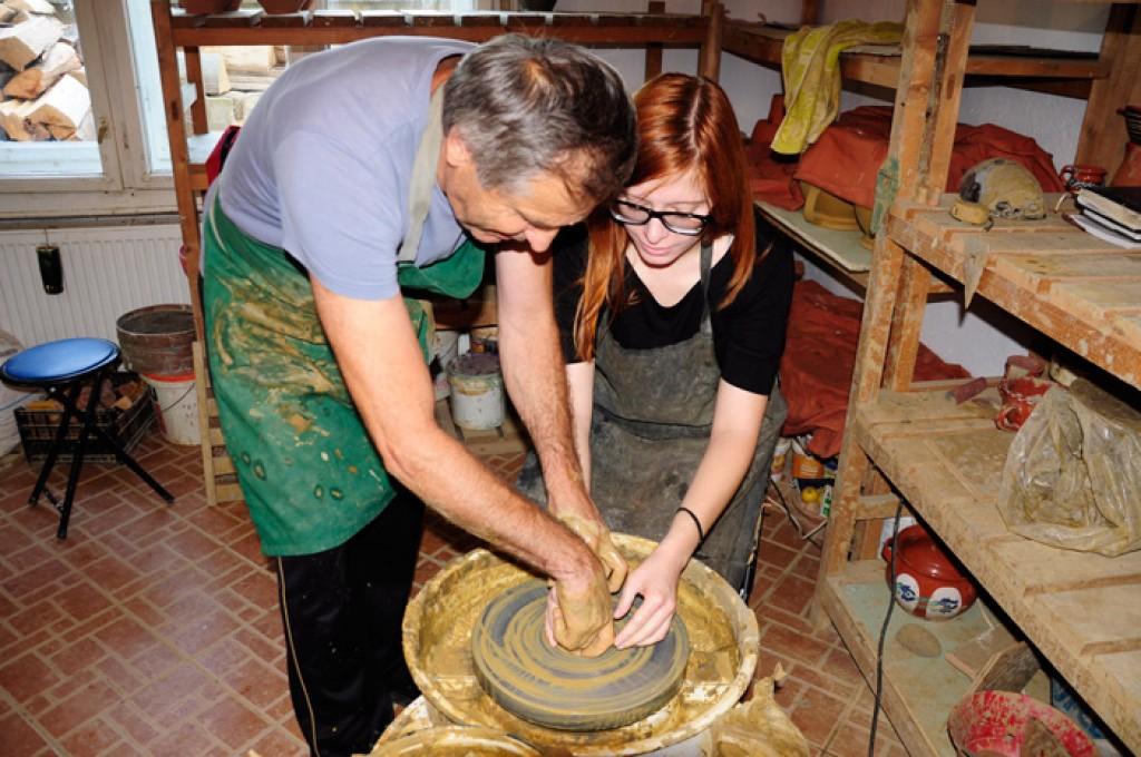 Zdjęcia: Vama, Satu Mare, Warsztaty ceramiki, RUMUNIA