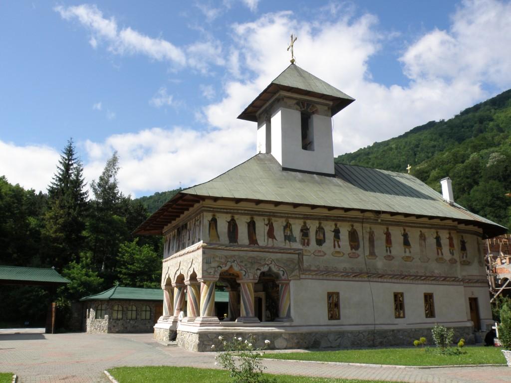 Zdjęcia: BUMBESTI-JI N, GORJ COUNTY , KLASZTOR LAINICI , RUMUNIA