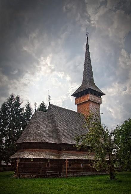 Zdjęcia: Bogdan Voda, Maramuresz, Cerkiew w Bogdan Voda, RUMUNIA